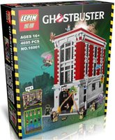 Wholesale 2016 New LEPIN Ghostbusters Firehouse Headquarters Model Building Kits Minifigure Blocks Bricks