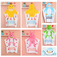 animal nissen cartoon - Nissen Summe Baby Shower Robe Hooded Bathrobe Thin Style Robes Baby Bath Towel Robe Kids Cartoon Animals Bath Towels Sleeping Quilt