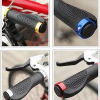 Wholesale New Hot MTB Road Cycling Skid Proof Grips Anti Skid Rubber Bicycle Grips Mountain Bike Lock On Bicycle Handlebars Grips