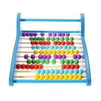 abacus maths - New Wooden Bead Abacus Counting Maths Educational Preschool Kids Toy Gift K5BO