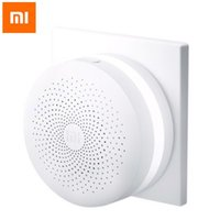 Wholesale Original Xiaomi DGNWG02LM Intelligent Multifunctional Gateway Upgraded Version for Xiaomi Smart Home Suite Devices Support Android and IOS