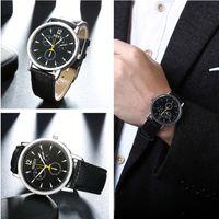 aero gifts - 2016 new hot sale Christmas gift aero automatic top brand morgan mens watch big bang black rubber band