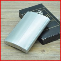 Wholesale 10oz stainless steel hip flask flask pocket flask wine flask liquor flask flachmann wine Whisky Hip Flask Portable BY DHL