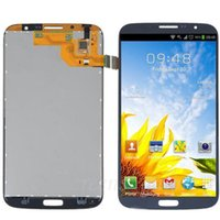 Cheap 1 Piece For Samsung Galaxy Mega 6.3 i527 i9205 i9200 LCD Assembly Display Touch Screen Digitizer Replacement with Frame