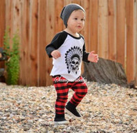 Wholesale Ins Kids Clothing Sets Long Sleeve Pants Autumn and Spring Children s Sports Suit Boys Clothes INS toddler boy set