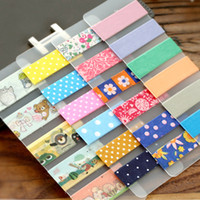 Wholesale Japanese Kawaii Sticky Tape Accessories Matte PVC Washi Tapes Tools Wrap Band Paper Sticker Winding tool