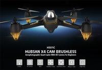 achat en gros de appareil photo tenant-Hubsan X4 H501C Brushless Avec 1080P HD GPS Camera Altitude Tenir sélecteur de mode RC RTF Mode Quadcopter