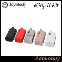battery clock kit - Joyetech eGrip II Starter Kit W Kit mah Battery with ML TFTA Tank NotchCoil ohm OLED Time Clock eGrip II Kit Original