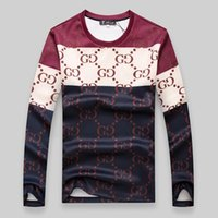 Wholesale 2016 Autumn New Pattern Round Neck Long Sleeve T Pity Will Code Men s Wear Clothing Fashion Sweater Fleece