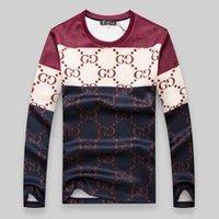 al por mayor prendas de vestir de lana-2016 otoño nuevo patrón de cuello redondo de manga larga T pena va a Código de ropa de los hombres de ropa suéter de moda de vellón