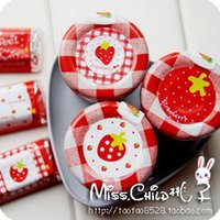 Wholesale 2000pcs Sweet Strawberry Sticker Adhesive Paper Wedding Seal Label Mixed Different Designs