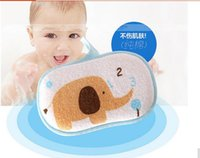 Wholesale 2016 SALE Baby Bath Towel Shower Sponge Cartoon Super Soft Cotton Brush Rubbing Kids Towel Ball Washcloths Wash Gloves