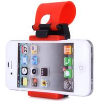 Wholesale Hot Sale Vehicle Phone GPS Holders ABS Car Steering Wheel Fitted Phone Socket Holder Convenient Navigation Holder Safe Drving
