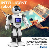 Wholesale 2016 newest intelligent robot housekeeper RK01 boss electronic robots early education robot robot toys every day together with your child