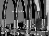 Wholesale 2016 Limited Rushed Casting Welding Carbon Steel Bushing Square Sliever Topografia Hydraulic Hose Assemblies with Bsp Jic Crimped Fittings