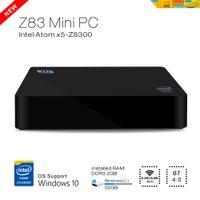 atom android - DHL Original Z83 TV Box G G Windows for Intel Atom x5 Z8300 K D Mini PC M LAN Wifi G G smart tv android tv box