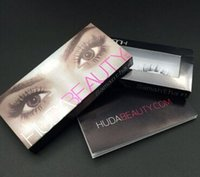 beauty manufacturers - eye lash eyelash Manufacturers supply a large number of hot selling models HUDA beauty D hair false false eyelashes