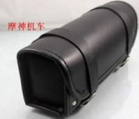 Wholesale 2014 New Black Car Motorcycle Saddle Bags Cruiser Tool Bag Luggage Handle Bar Bag Tail Bags CM
