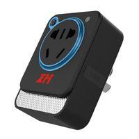 Precio de Mini cámaras wi fi-2016 Nuevo producto 10A Control remoto inalámbrico Wi-Fi inteligente toma de 0.3MP mini cámara del zócalo con luz de noche