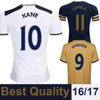 away england - 2016 England Football ShirtS Home Away Third Soccer Jerseys LAMELA JANSSEN KANE Camiseta de futbol