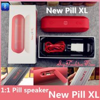 Wholesale New Pill XL Bluetooth Speakers Super Deep Bass Pill Speakers Bluetooth For iPhone s Sumsang with Retail Package In Stock