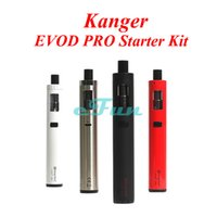 aspire one pro - Kanger EVOD PRO Starter Kit ORIGINAL EVOD Pro Kit Use Unique All in One TM Design Top Fill VS Aspire Plato Joyetech eGrip EVOD PRO kit