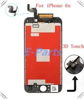 Wholesale 2016 best quality Original FOG For iphone S inch LCD Display Touch Screen Digitizer Full Assembly Replacement With Good D Touch