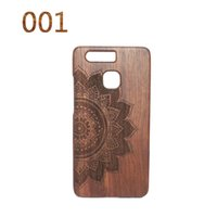 bamboo house - Original Natural Bamboo wood Phone Cases For Huawei P9 Hard Back Cover Case Capa Shell Cover Accessories Housing
