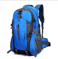 Wholesale Athletic Outdoor Bags Hot new large capacity outdoor backpack mountaineering bag men and women riding hiking bag computer bag bag