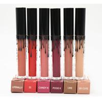 Wholesale In Stock Color Kylie Lip Kit By Kylie Jenner Eyekiner Kylie Set Lipgloss Liquid Lipstick Matte Long Lasting