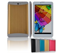 Wholesale 7 Inch G Phablet Android MTK6572 Dual Core GHz MB RAM GB ROM G Phone Call GPS Bluetooth WIFI WCDMA Tablet PC