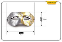 Wholesale Halloween Costume Party Mask Halloween Party Prince Cosplay Street Dance