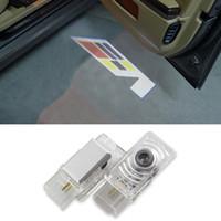 ats autos - Car LED Welcome Light Luce Porta Auto Courtesy Car Door Lights for Cadillac XTS ATS CTS SRX