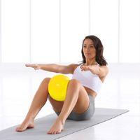 Wholesale Mini Yoga Ball Physical Fitness ball for fitness Appliance Exercise balance Ball home trainer balance pods GYM YoGa Pilates cm