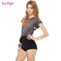 Wholesale Sexy High Waisted Hot Pants - High waisted sexy shorts for womens personalized skinny shorts for ladies summer trendy fitted sports shorts plus size casual hot pants