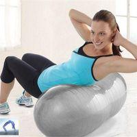Wholesale Sport Pilates Yoga Fitness Ball Exercise Anti Burst yoga Ball multi use burstproof PVC fitball trainning fitness balls cm