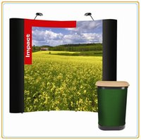 backwall display - Pop up Backwall Display Banner with Full Color PVC Graphic FT Magnetic