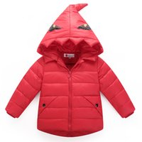 Wholesale Winter Children Outerwear Kids Clothes Boys Jackets kids sport hooded outerwear cartoon children jacket cotton padded clothing