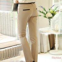 Cheap Quality Women's Pants Plus Size Casual Long Trousers for Office Ladies business Work Khaki Color Harem Pants Suit Trousers