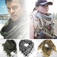arab head - Arab Scarves Mato Hash Military Windproof Ring Scarfs Shemagh Head Warp Desert Scarves Neck Tactical Cotton Keffiyeh Scarf
