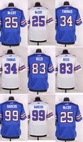 Wholesale 2016 Newest Men s BB LeSean McCoy Thomas Andre Reed Marcell Dareus Elite Football Jerseys