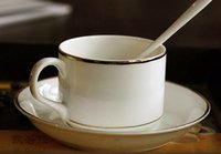 Wholesale Mr Obama s gold bone porcelain coffee cup Classic contracted cup