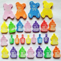 baby bottle graphics - 200PCS Foam bear milk bottle stickers Wall stickers Kindergarten ornament Home decoration New baby room decoration Onstock