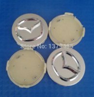 Wholesale 4pcs set Wheel Center Cap Hub Cap Emblem MM Diameter Fit for MAZDA CX CX CX RX8