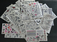 Wholesale 150Pcs CM Waterproof Temporary Tattoos Body Art Tattoo Stickers for Decorative Use
