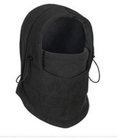 Wholesale Winter warm Fleece beanies hats for men skull bandana neck warmer balaclava ski snowboard face mask Wargame Special Forces Mask