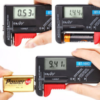 Wholesale Universal Battery Power Tester Checker for AA AAA C D V Button Cell Li Battery