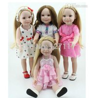 american girl collection - Vinyl American inch Girl Doll Collection Baby Alive Toys Handmade New Style Baby Gift In Stock cm