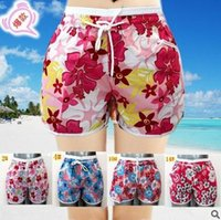 beach colors paint - 2016 Summer beach Running shorts for womens thin Quick Drying Elastic Waist Candy Colors plus size shorts