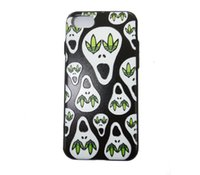 apple computers cover - VODEX iphone7 P frosted hard shell embossed leaves skull iphone6s P mobile phone computer fully protection fashion back cover